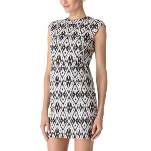 Theory Orinthia Ikat Shift Dress
